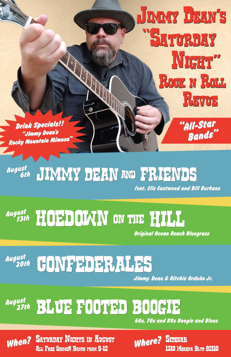 "Jimmy Dean's ""Saturday Night"" Rock n Roll Review"
